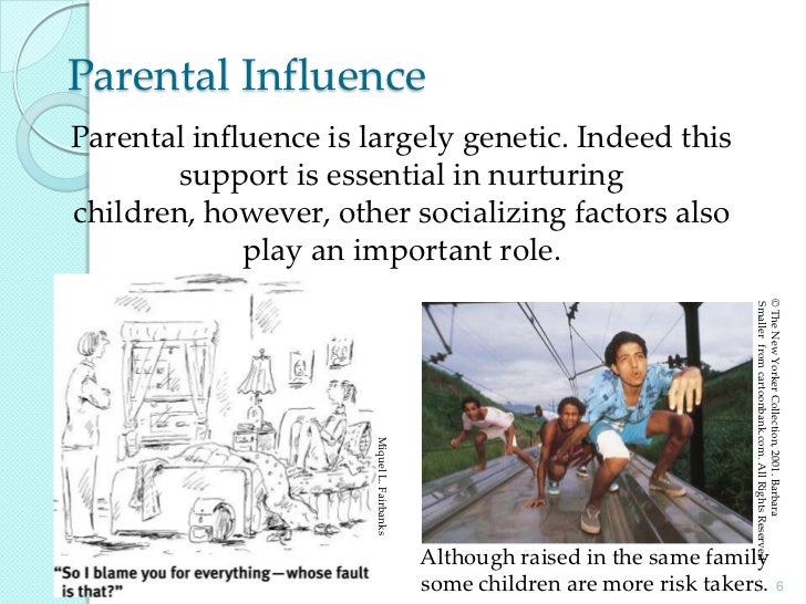 the genetic and environmental influences in animal behavior Read and learn for free about the following article: genes, environment, and   influence behavior as jennifer and karen interact with their environment.