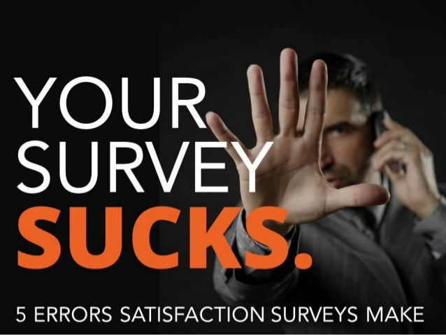 How to Fix Common Customer Satisfaction Survey Errors