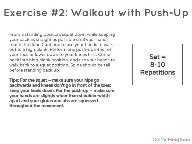 5 Exercise Bodyweight Workout That Works