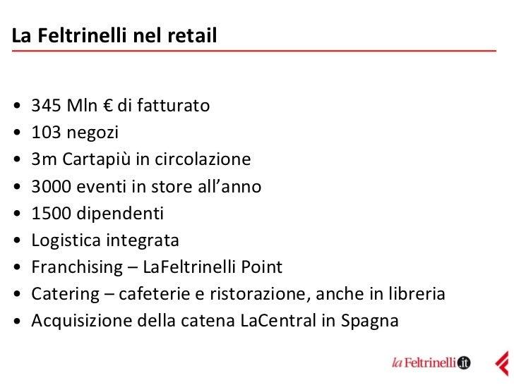 Feltrinelli - Convegno eCommerce 2011 Slide 2