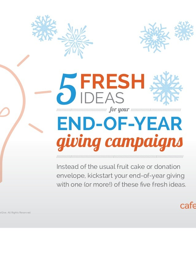 Year End Gift Campaign Letter