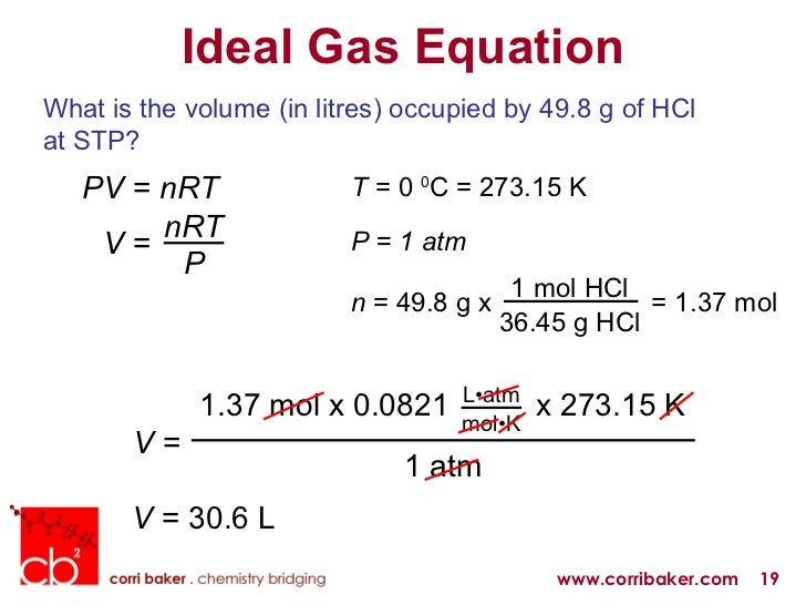 gas law experiments