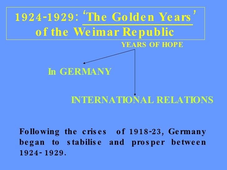 explain why 1923 was a difficult year for the weimar republic essay Explain why the polish government was unable to stop  explain why 1923 was a difficult year for the weimar republic [6] (c) 'the weimar republic was a.