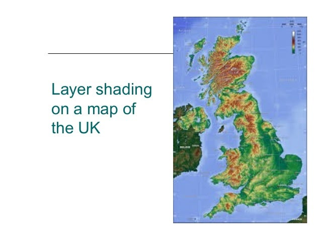 height on maps contours – Map Uk Height Above Sea Level