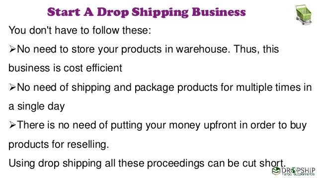 how to set up an online store drop shipping
