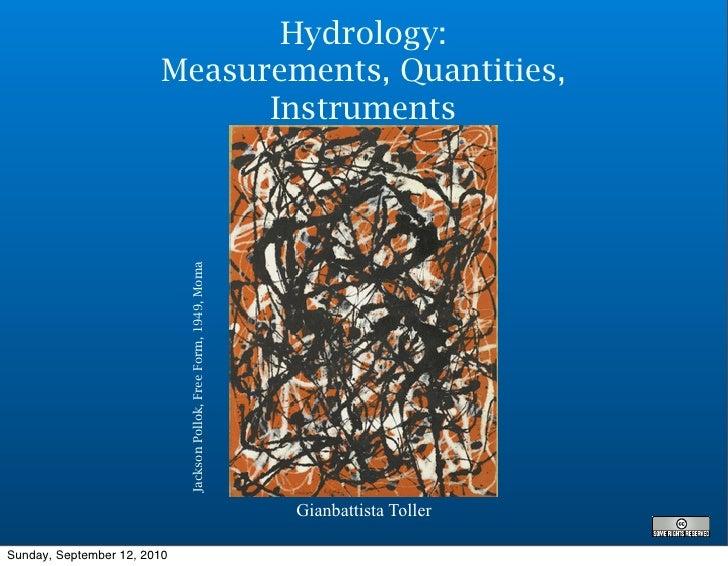5   hydrology quantities-measures_instruments_activities