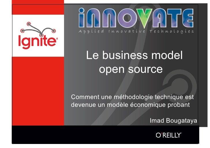 Le business model       open source  Comment une méthodologie technique est devenue un modèle économique probant          ...