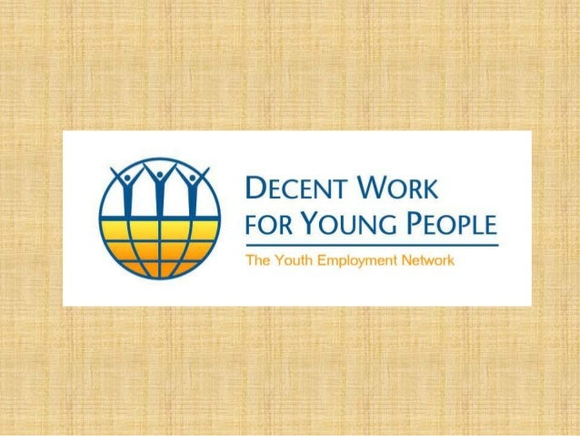 THIS PRESENTATION • The challenge of youth employment • Action for youth employment: the Youth Employment Network