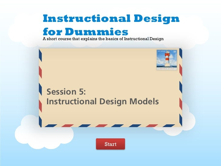 5instructional design models