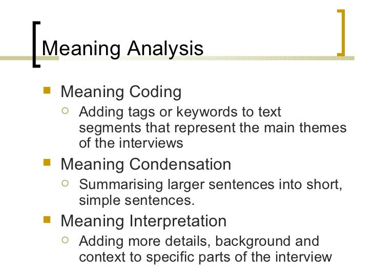 Phd thesis qualitative interviews