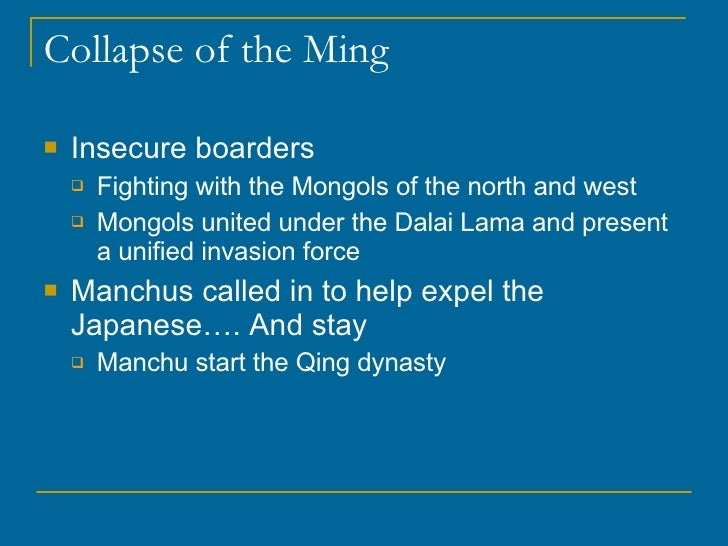 rise and fall of the mongols Where did the mongols get their arrows from (selfaskhistorians) there have been a couple of studies and numerous articles written about the ecological cause of the rise and fall of the mongol empire they are really very fascinating.