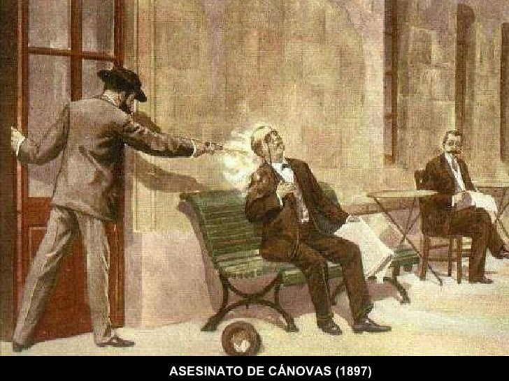 ASESINATO DE CÁNOVAS (1897)