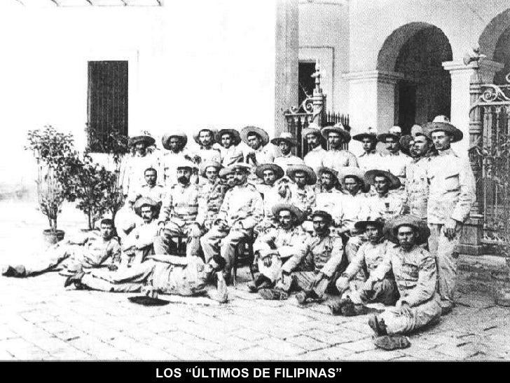 """LOS """"ÚLTIMOS DE FILIPINAS"""""""