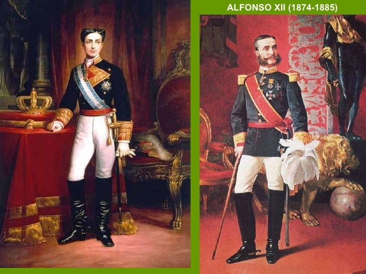 ALFONSO XII (1874-1885)