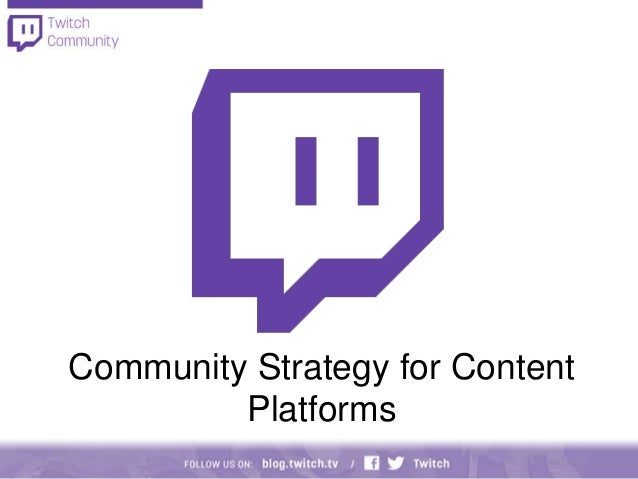 Marcus Graham: Community Strategy for Content Platforms