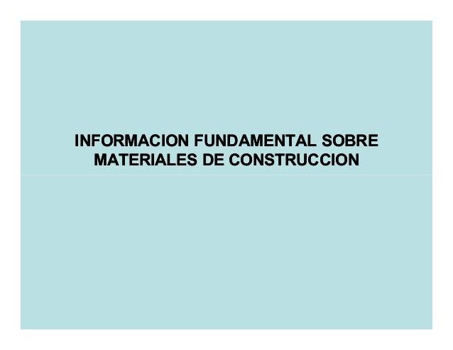 5 materiales de construccion 1 - Materiales de construccion tarragona ...