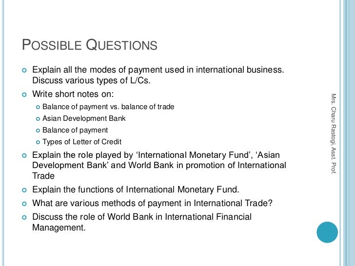international payment methods International payment presentation outline cash also called the documentary letters of credit most common payment method in international trade international.