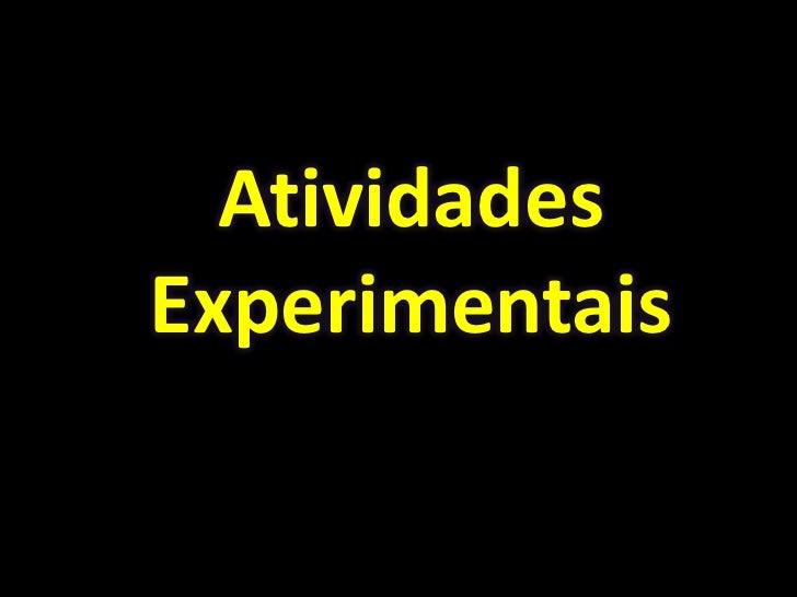 AtividadesExperimentais