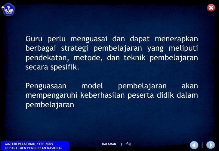 MODEL PEMBELAJARAN Slide 3