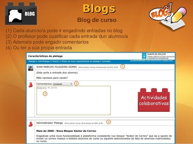 BLOG                                   Blogs                                Blog de curso(1) Cada alumno/a pode ir engadin...