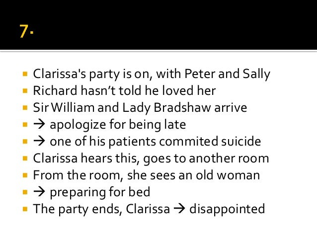 the marriage of clarissa and richard in mrs dalloway by virginia woolf Get an answer for 'in mrs dalloway, why did clarissa reject peter walsh and marry richard does she regret her decision is theirs a successful marriage how has her rejection affected.