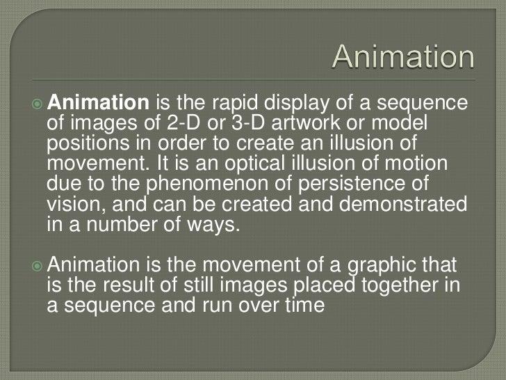 5   multimedia elements - animation