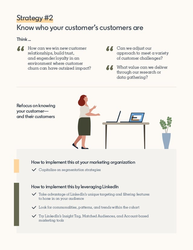 Think ... How can we win new customer relationships, build trust, and engender loyalty in an environment where customer ch...