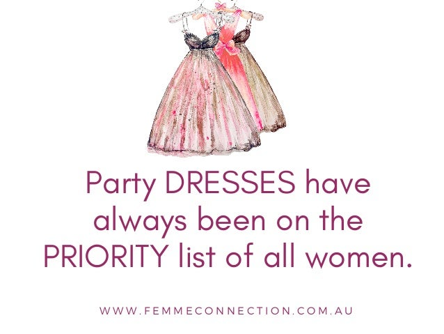 5 New Party Dresses to Buy Right Now   FemmeConnection Slide 2