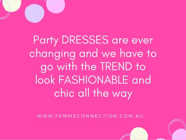 5 New Party Dresses to Buy Right Now   FemmeConnection Slide 3