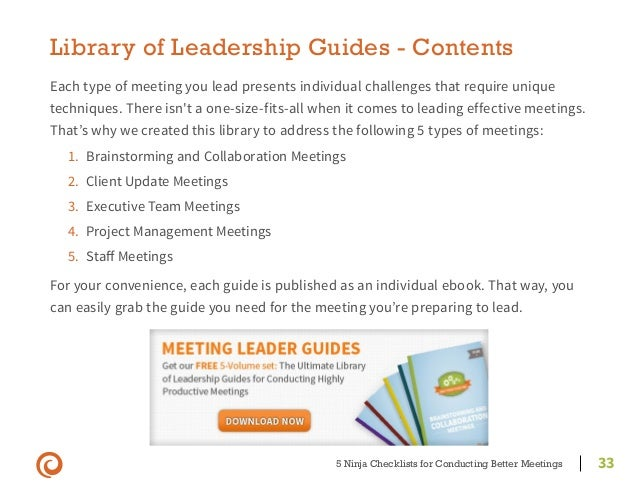 m3 33 effective meetings for managers Project management knowledge and skills for green construction: overcoming challenges  frequent meetings  project managers must be effective at schedule.