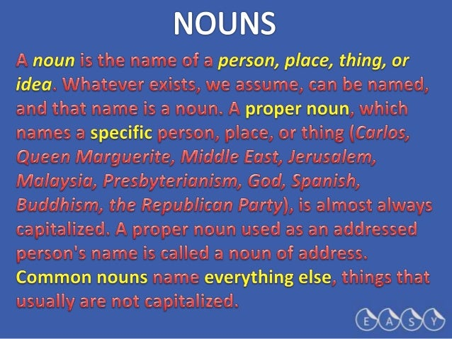 5   nouns