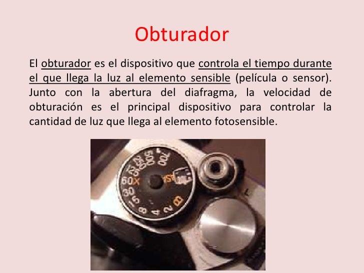 5. Obturador y velocidad de obturacion Slide 2