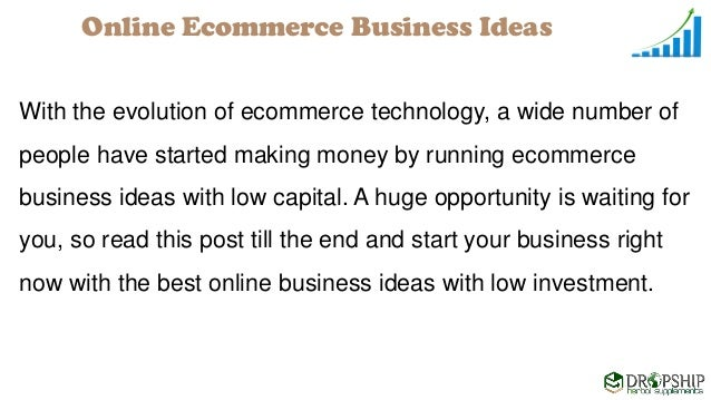 Online ecommerce business ideas with low investment capital 3 ccuart Image collections