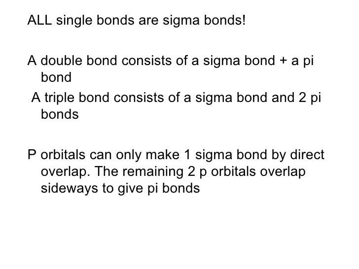 5 Orbital Shapes Covalent Bonding