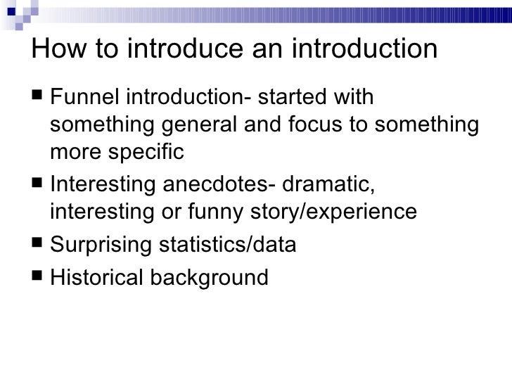 para essay structure