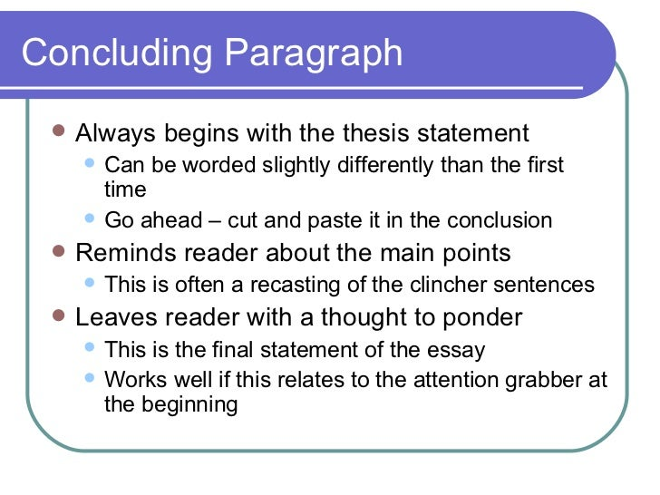 paragraph essay construction  9