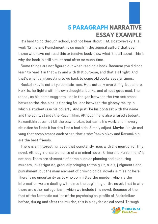 Essay For High School Application Examples Sample Narrative Essay  Paragraphs English Essay Sample also Essay On Importance Of Good Health Sample Narrative Essay  Paragraphs  Personal Paragraph Narrative  Example Essay English