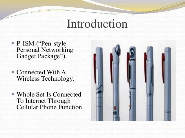 5 Pen Pc Technology Complete Ppt