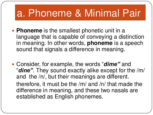 5 Phoneme Suprasegmental Phoneme