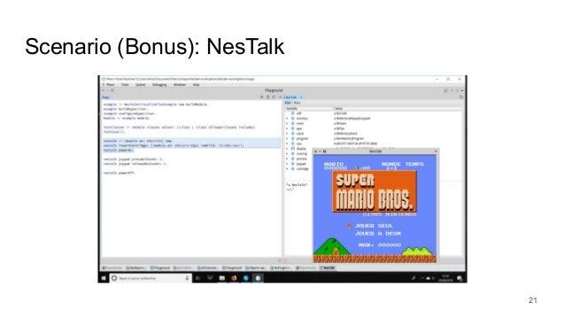 Scenario (Bonus): NesTalk 21 Show time !!