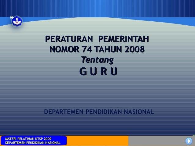 MATERI PELATIHAN KTSP 2009DEPARTEMEN PENDIDIKAN NASIONALMATERI PELATIHAN KTSP 2009DEPARTEMEN PENDIDIKAN NASIONALDEPARTEMEN...