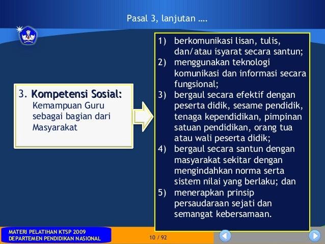 MATERI PELATIHAN KTSP 2009DEPARTEMEN PENDIDIKAN NASIONALMATERI PELATIHAN KTSP 2009DEPARTEMEN PENDIDIKAN NASIONAL 10 / 921)...