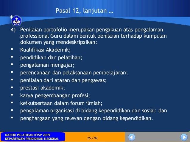 MATERI PELATIHAN KTSP 2009DEPARTEMEN PENDIDIKAN NASIONALMATERI PELATIHAN KTSP 2009DEPARTEMEN PENDIDIKAN NASIONAL 25 / 924)...