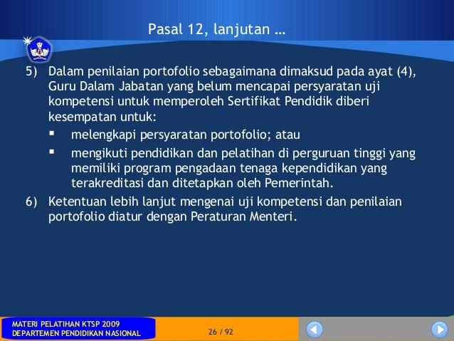 MATERI PELATIHAN KTSP 2009DEPARTEMEN PENDIDIKAN NASIONALMATERI PELATIHAN KTSP 2009DEPARTEMEN PENDIDIKAN NASIONAL 26 / 925)...