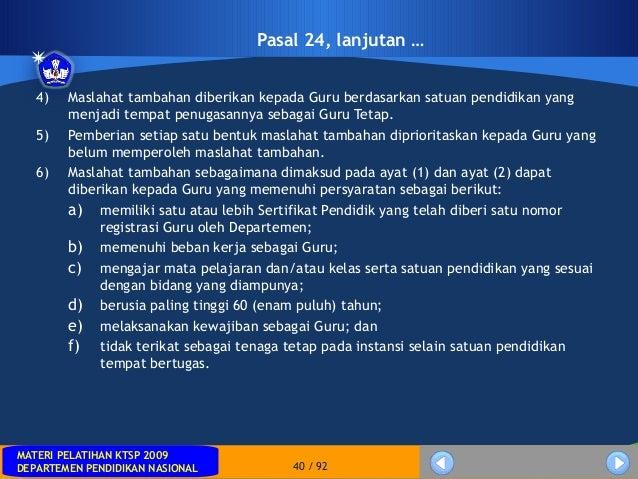 MATERI PELATIHAN KTSP 2009DEPARTEMEN PENDIDIKAN NASIONALMATERI PELATIHAN KTSP 2009DEPARTEMEN PENDIDIKAN NASIONAL 40 / 924)...