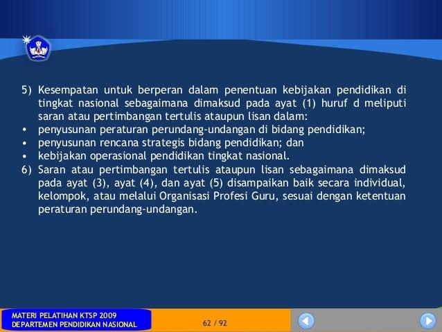 MATERI PELATIHAN KTSP 2009DEPARTEMEN PENDIDIKAN NASIONALMATERI PELATIHAN KTSP 2009DEPARTEMEN PENDIDIKAN NASIONAL 62 / 925)...
