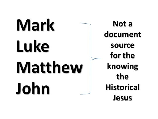 5 quest for the historical jesus
