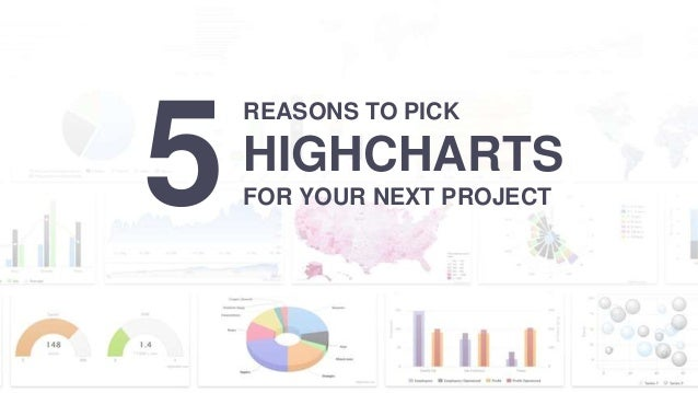 5 REASONS TO PICK HIGHCHARTS FOR YOUR NEXT PROJECT