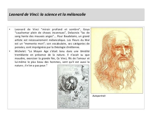 """Leonard de Vinci: la science et la mélancolie • Leonard  de  Vinci  """"miroir  profond  et  som..."""