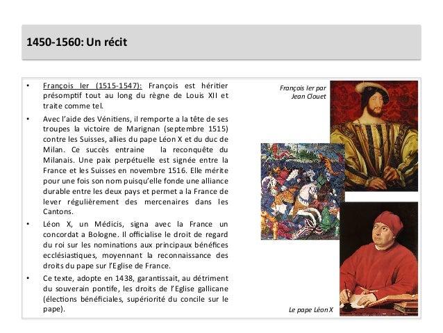 1450-‐1560: Un récit • François  Ier  (1515-‐1547):  François  est  hériGer présompGf  tout  au ...